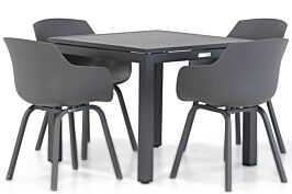 Lifestyle Salina/Concept 90 cm dining tuinset 5-delig