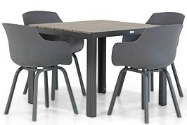Lifestyle Salina/Young 92 cm dining tuinset 5-delig