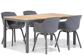 Lifestyle Salina/Mazzarino 160 cm dining tuinset 5-delig