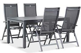 Hartman Salvatore/Concept 160 cm dining tuinset 5-delig