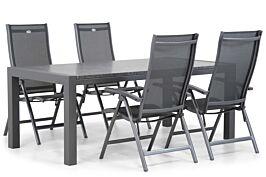Hartman Salvatore/Edmonton 180 cm dining tuinset 5-delig
