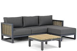Santika Salviano/Riviera 75 cm chaise longue loungeset 5-delig