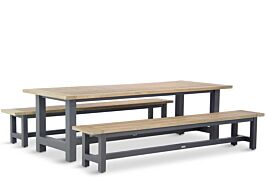 Lifestyle San Francisco picknick dining tuinset 260 cm 3-delig