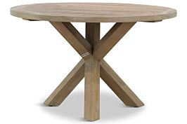 Garden Collections Sand City rond dining tuintafel 120 cm