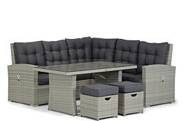 Garden Collections Sheffield hoek loungeset 6-delig