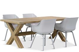 Hartman Sophie element/Oregon 200 cm dining tuinset 5-delig