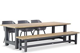 Hartman Sophie element/San Francisco 260 cm dining tuinset 5-delig