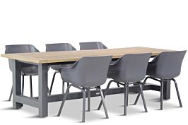 Hartman Sophie element/San Francisco 260 cm dining tuinset 7-delig