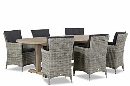 Garden Collections Springfield/Brighton 240 cm dining tuinset 7-delig