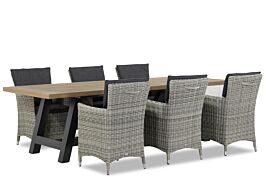 Garden Collections Springfield/Trente 260 cm dining tuinset 7-delig