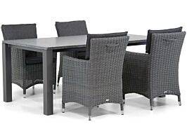 Garden Collections Springfield/Munster 180 cm dining tuinset 5-delig