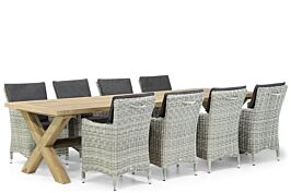 Garden Collections Springfield/Oregon 300 cm dining tuinset 9-delig