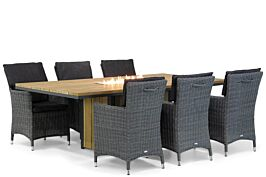 Garden Collections Springfield/Seaside 220 cm dining tuinset 7-delig