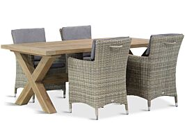 Garden Collections Springfield/Oregon 200 cm dining tuinset 5-d