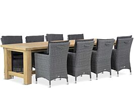 Garden Collections Springfield/Fourmile 300 cm dining tuinset 9-delig
