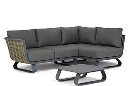 Santika Tika chaise longue loungeset 4-delig