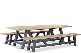 Lifestyle Trente dining picknickset 260 cm 3-delig