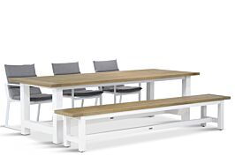 Lifestyle Treviso/Los Angeles 260 cm dining tuinset 5-delig