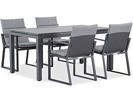 Lifestyle Treviso/Concept 160 cm dining tuinset 5-delig