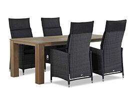Garden Collections Madera/Brighton 200 cm dining tuinset 5-delig