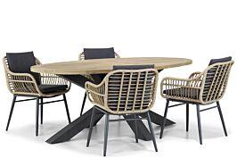 Coco Leonardo/Brookline 200 cm dining tuinset 5-delig