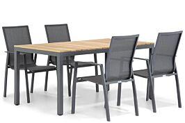 Lifestyle Ultimate/Mazzarino 160 cm dining tuinset 5-delig