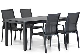 Lifestyle Ultimate/Concept 160 cm dining tuinset 5-delig