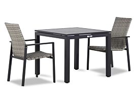 Lifestyle Upton/Concept 90 cm dining tuinset 3-delig stapelbaar