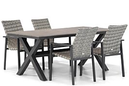 Lifestyle Upton/Forest 180 cm dining tuinset 5-delig