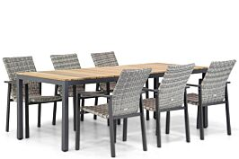 Lifestyle Upton/Mazzarino 220 cm dining tuinset 7-delig