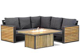 Lifestyle Verona/Seaside 120 cm hoek loungeset 4-delig
