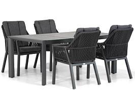 Lifestyle Verona/Lido 180 cm dining tuinset 5-delig
