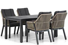 Lifestyle Verona/Concept 160 cm dining tuinset 5-delig