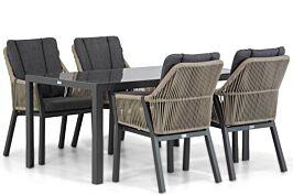 Lifestyle Verona/Mondello 160 cm dining tuinset 5-delig