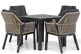 Lifestyle Verona/Concept 90 cm dining tuinset 5-delig