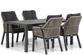 Lifestyle Verona/Pallazo 180 cm dining tuinset 5-delig