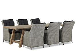 Garden Collection Buckingham/Lazio 260 cm dining tuinset 7-delig