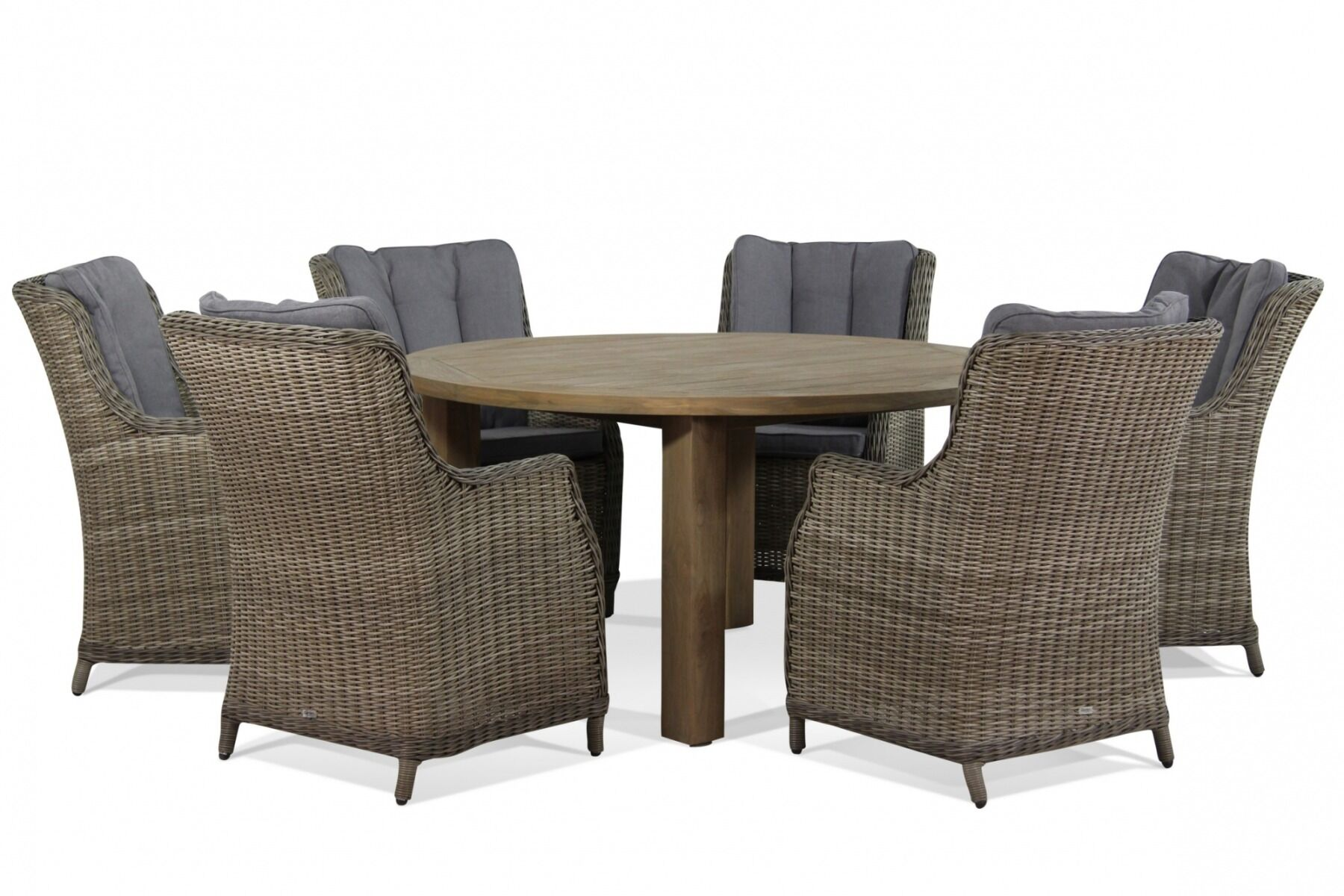 Tuinset Oxford Collection.Garden Collections Buckingham Oxford 150 Cm Dining Tuinset 7 Delig