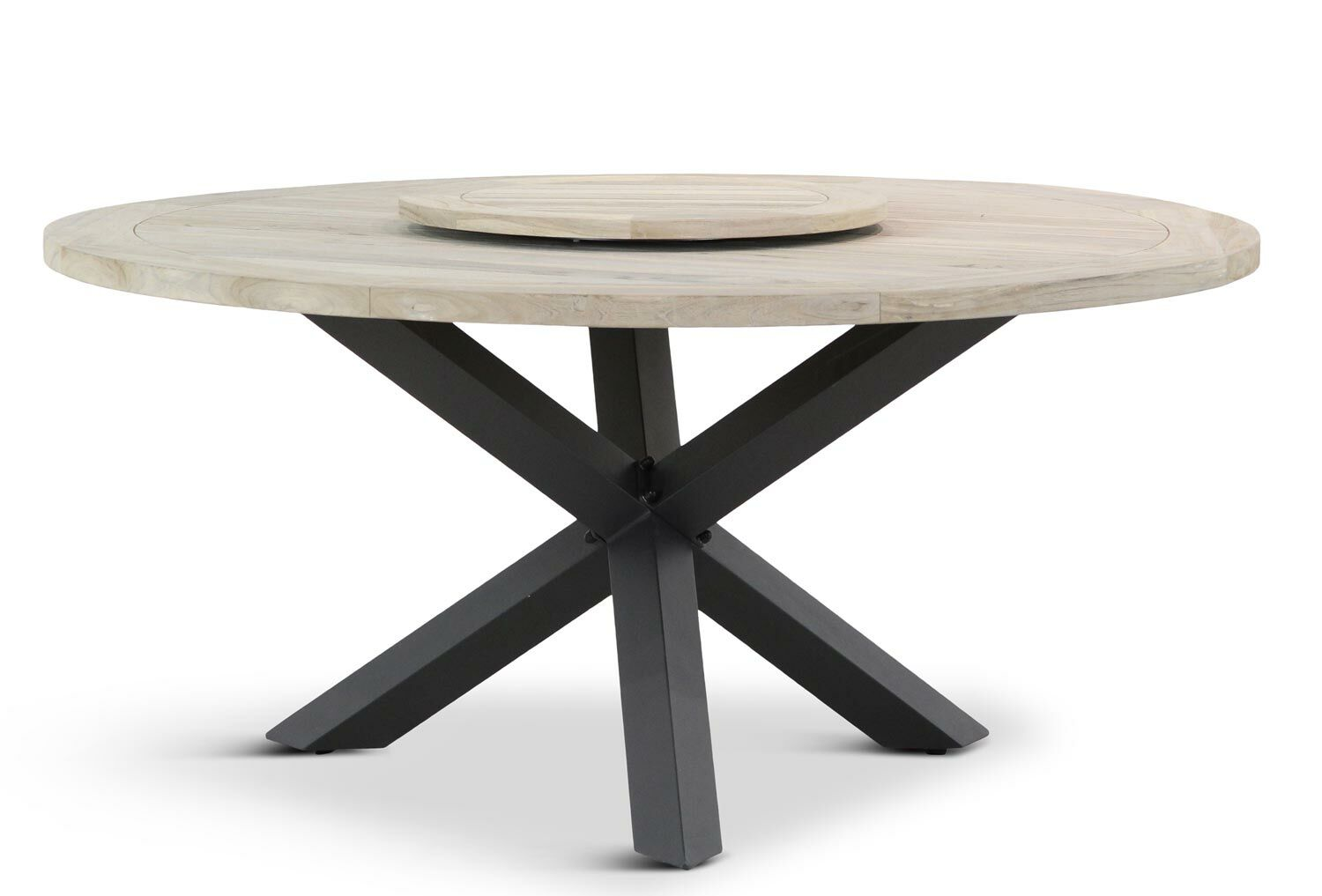 Seasons outdoor louvre rond cm dining tuintafel