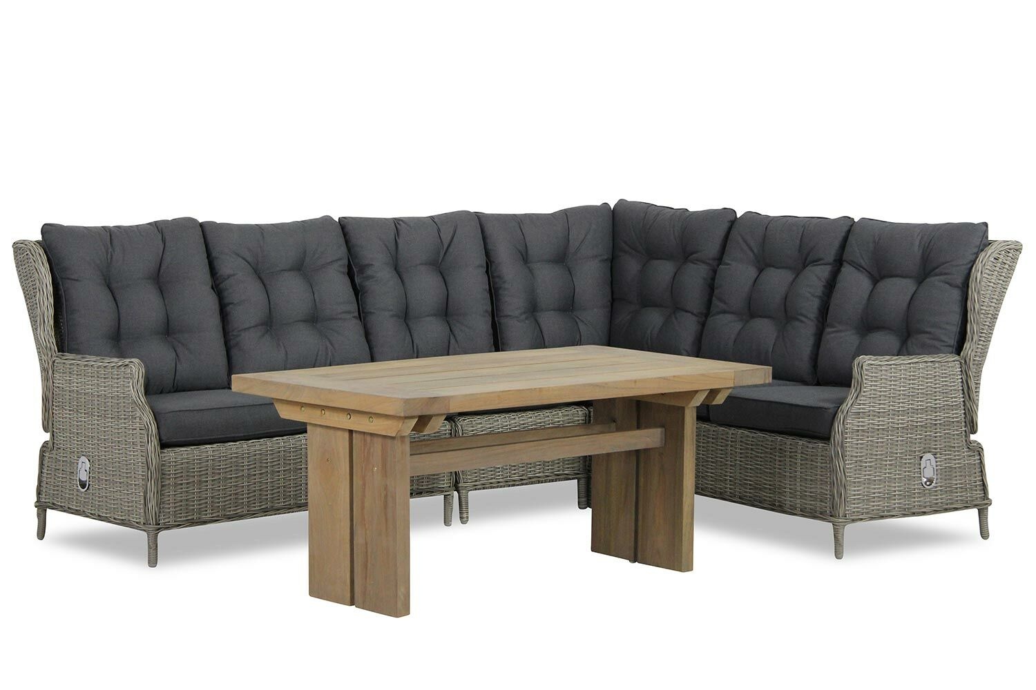 Garden collections new castle brighton dining loungeset 5 delig