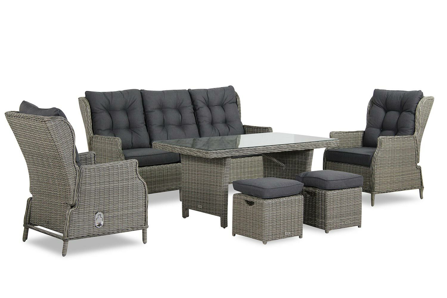 Garden collections new castle dining loungeset 6 delig