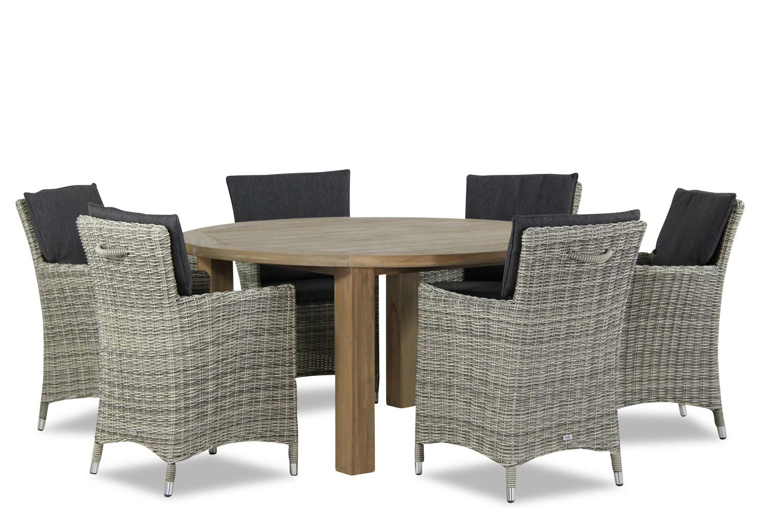 Tuinset Oxford Collection.Garden Collections Springfield Oxford 150 Cm Dining Tuinset 7 Delig