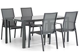 Lifestyle Ultimate/Mondello 160 cm dining tuinset 5-delig