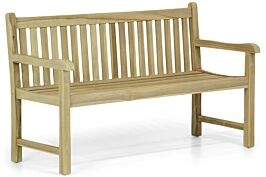 Garden Collections Preston houten tuinbank teak 150 cm