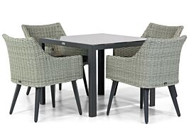 Garden Collections Milton/Mondello 90 cm dining tuinset 5-delig