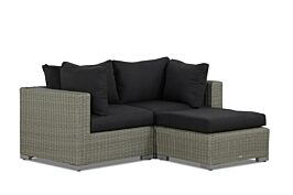 Garden Collections Toronto chaise longue loungeset 3-delig