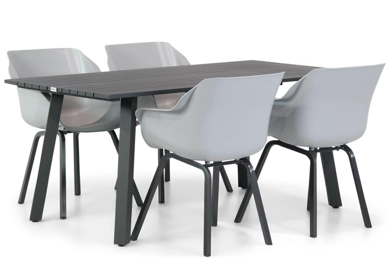 Hartman Sophie element/Villagio 170 cm dining tuinset 5-delig