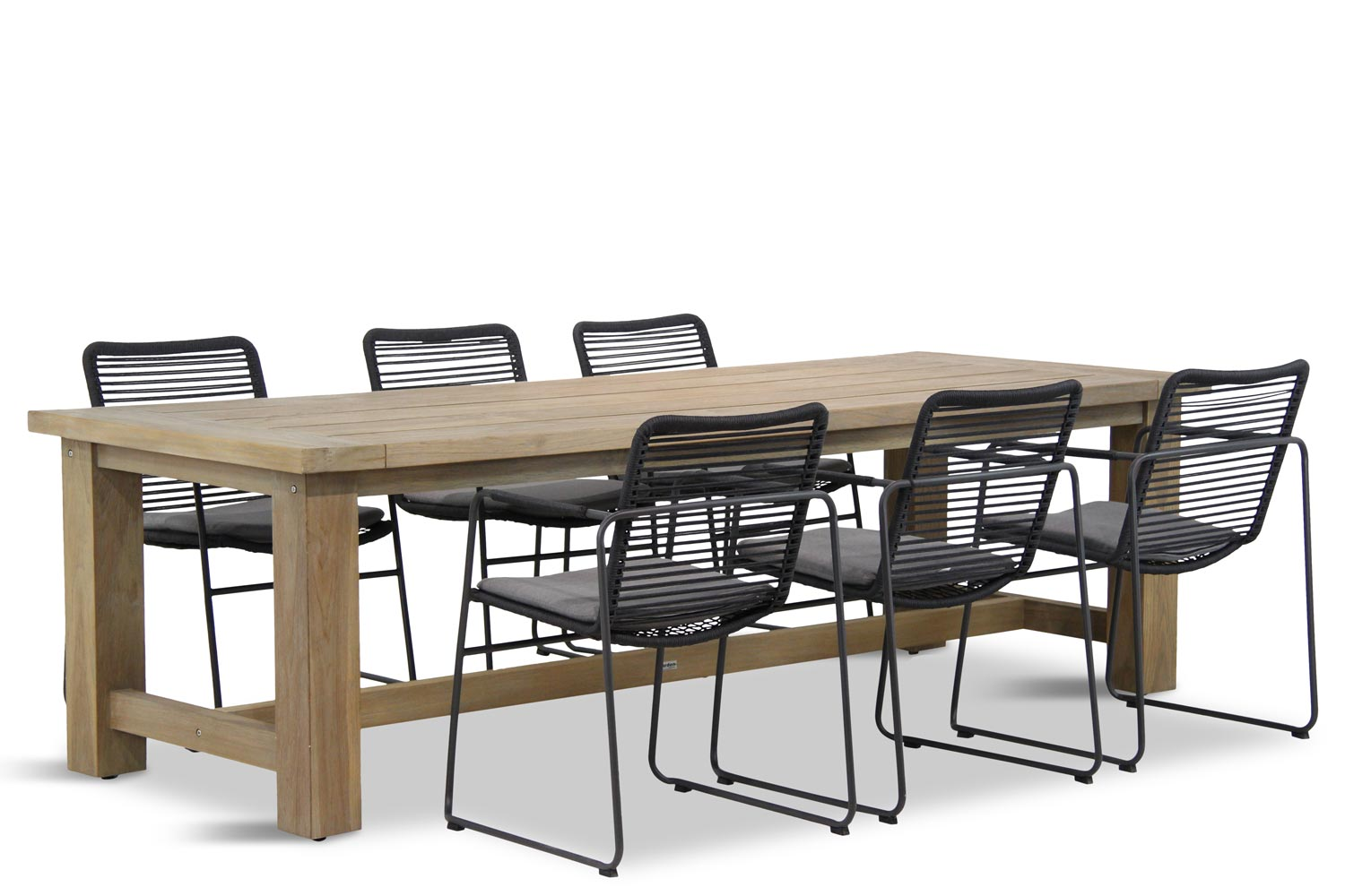 Image of 4 Seasons Outdoor Elba/Fourmile 260 cm dining tuinset 7-delig