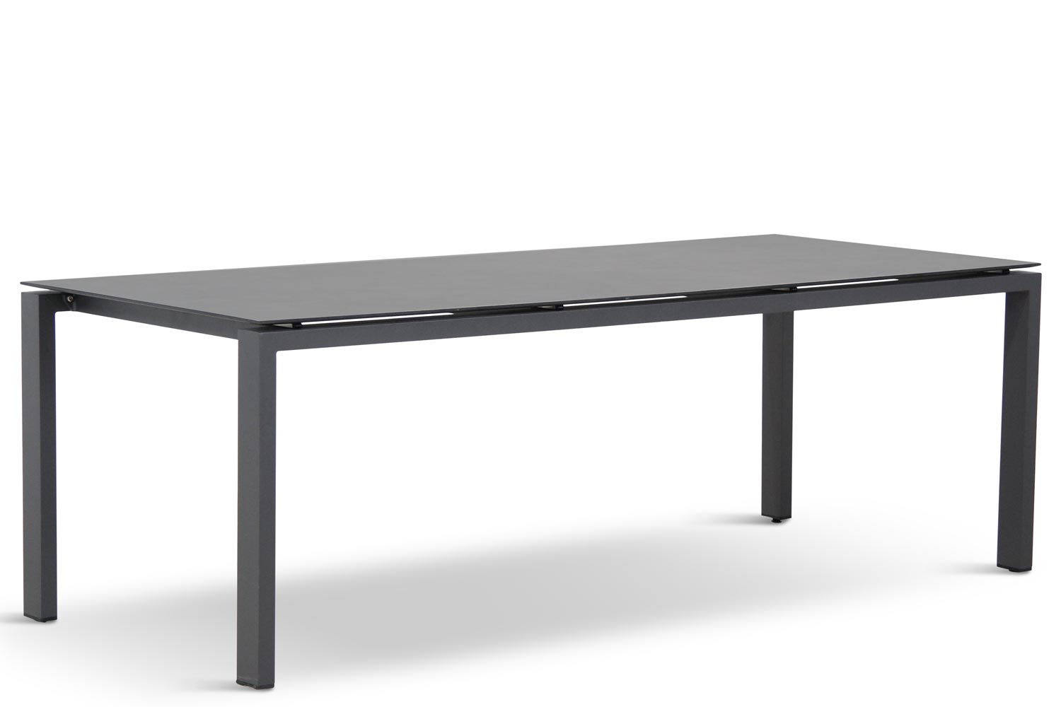 4 Seasons Outdoor Goa dining tuintafel 220 cm Dark Grey HPL