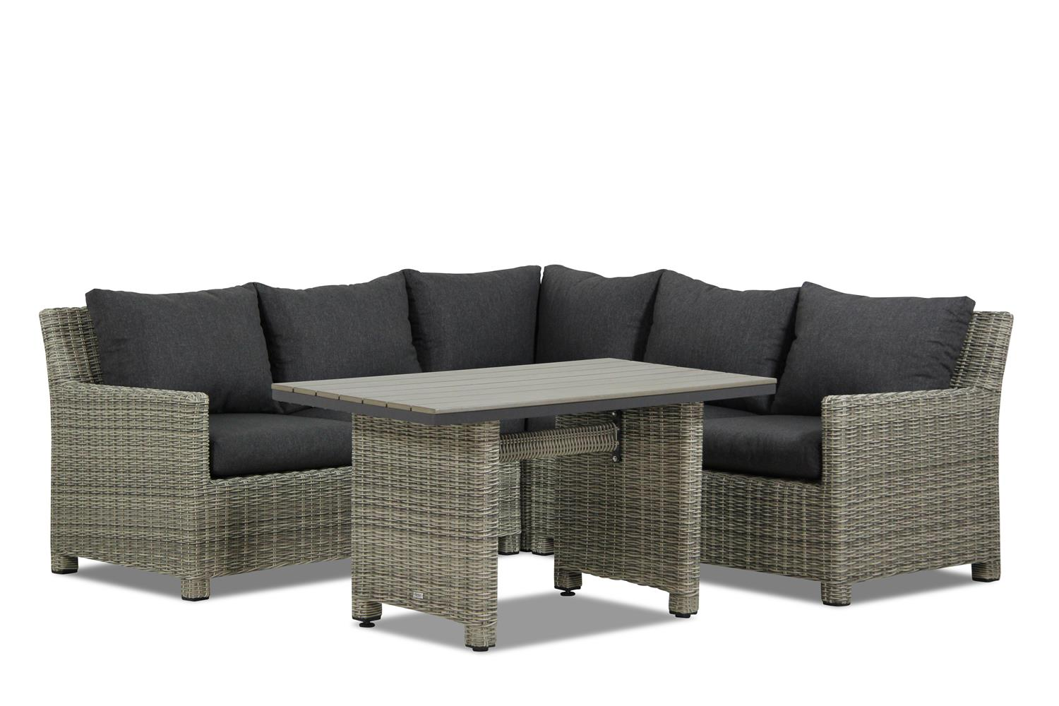 Garden Collections Lusso dining loungeset 4-delig